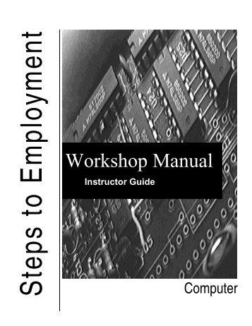 Workshop Manual - Settlement.org