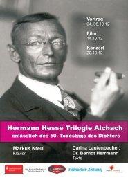 Flyer - Hermann Hesse Portal