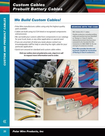 Download Section pages 20-23 - Polar Wire Products Inc