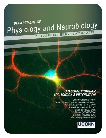 Information Brochure (pdf) - Physiology and Neurobiology ...