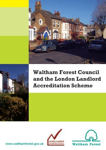 leaflet on Landlord Accreditation - Waltham Forest Council