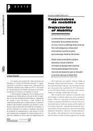 Michigan : Trajectoires de mobilités / Trajectories of ... - Africultures