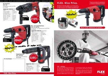 FLEX. Nice Price.