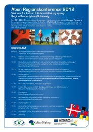 Åben Regionskonference 2012