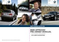 Term & Conditions - BMW