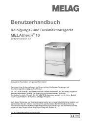 Melag Melatherm