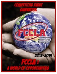 Downloadable Guidebook - Texas FCCLA