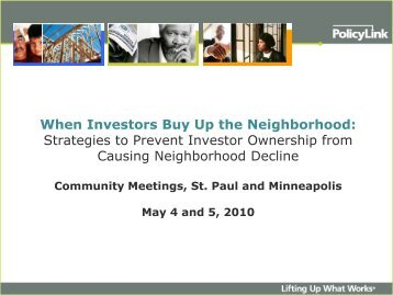Download the Community Presentation (PDF) - Family Housing Fund
