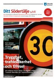 Ditt Södertälje4/08 - Södertälje kommun