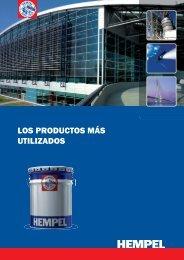 Folleto sobre los productos más utilizados - Hempel
