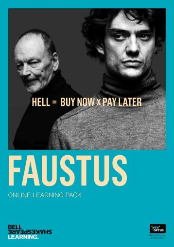 hell = bUy now x pAy lATer - Bell Shakespeare