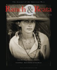 Western Artist John Moyers Great Basin Ranch Families: A Portfolio ...