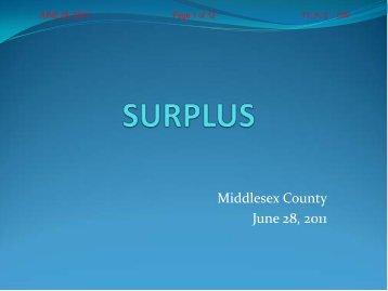June 28 - Surplus Power point - June 28, 2011.pdf - County of ...