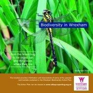 Biodiversity in Wrexham - Wrexham County Borough Council