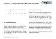 Ausbildung zur/m Veranstaltungskauffrau/-mann (IHK)