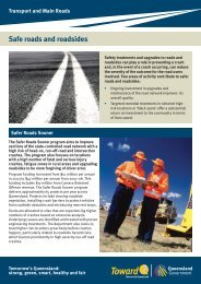 Safe roads and roadsides - Centre for Accident Research and Road ...