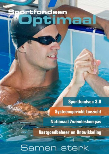 Uitgave 2013 - Thema: Samen sterk - Sportfondsen