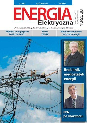 numer 10/2008 - E-elektryczna.pl