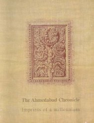 The Ahmedabad chronicle, imprints of a millennium