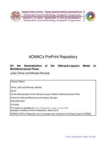 Download (2777Kb) - ACMAC's PrePrint Repository