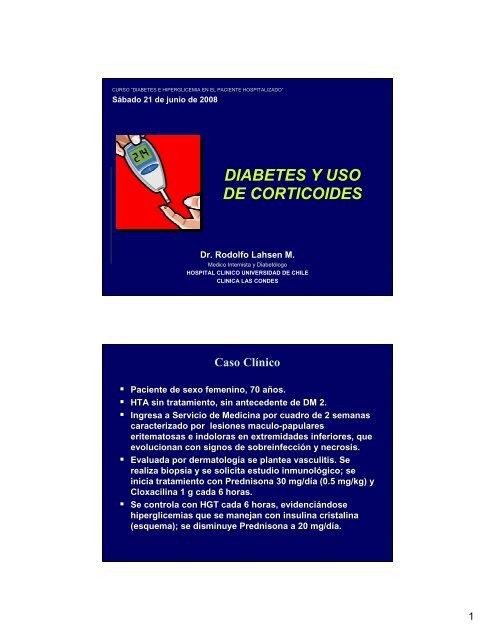 diabetes tipo 2 manejo de insulina en pacientes hospitalizados