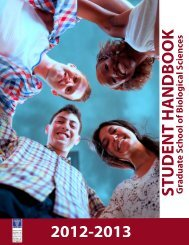 Graduate Student Handbook - Mount Sinai School of Medicine