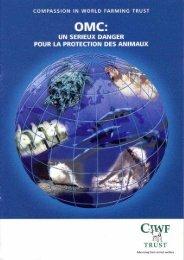 Selon l'OMC - Compassion in World Farming