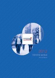 Výročná správa 2012 (SK,EN) - Komunálna Poisťovňa