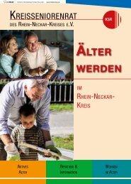 ÄLTER WERDEN - Rhein-Neckar-Kreis