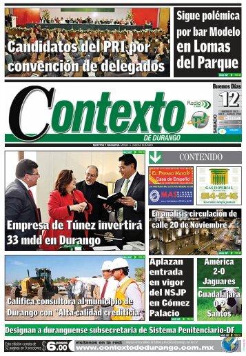 12 - Contexto de Durango