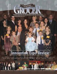 Innovation Expo Review - Wisconsin Grocers Association