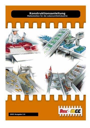 Konstruktionsanleitung - Rexnord FlatTop Europe
