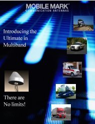 Multiband Antennas - Mobile Mark