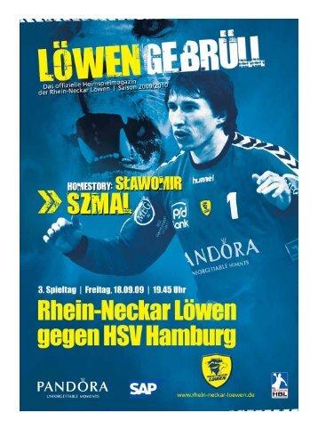 und wir beweisen es: Jetzt vergleichen unter ... - Rhein-Neckar Löwen