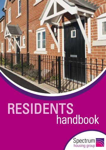Resident Handbook - Spectrum Housing Group