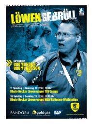 (Saison 2010/2011): TBV Lemgo / HBW - Rhein-Neckar Löwen