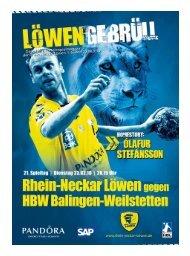 (Saison 2009/2010): HBW Balingen-Weilstetten - Rhein-Neckar ...