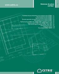 7 Sistemas de pisos CETRIS®
