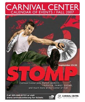 2007 Fall Brochure - Adrienne Arsht Center