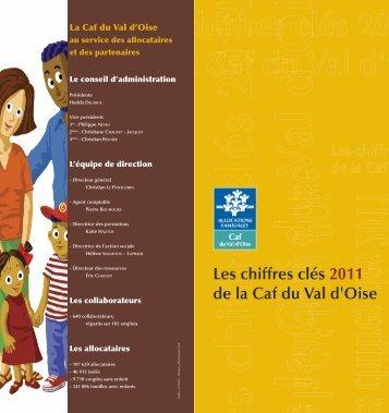 Les chiffres clés de l'année 2011 - Caf.fr