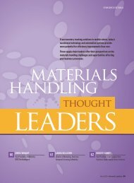 Inbound Logistics | Materials Handling Thought Leaders 2012 ...