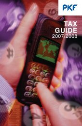 Tax Guide 2007 - PKF South Africa