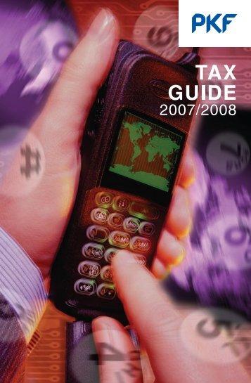 Tax Guide 2007 - PKF South Africa