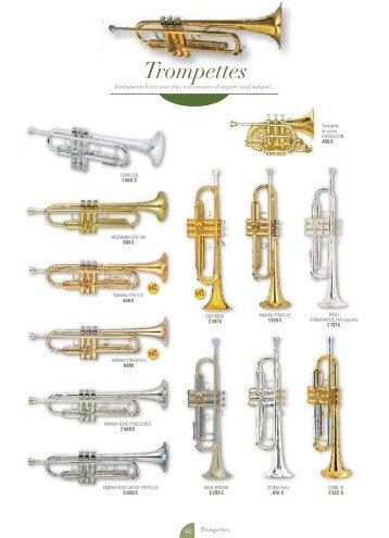 Trompettes - JS Musique