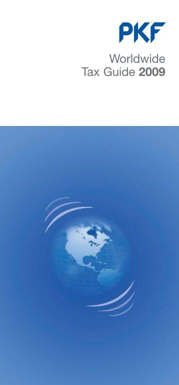 Worldwide Tax Guide 2009 - PKF Texas