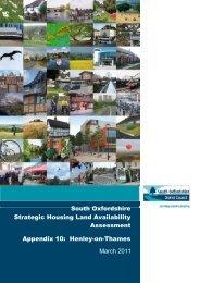Appendix 10 Henley - South Oxfordshire District Council