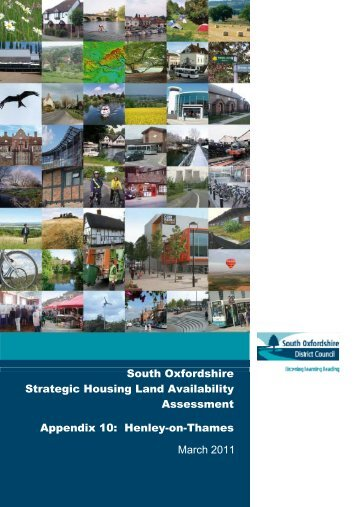 Appendix 10 Henley - South Oxfordshire District Council