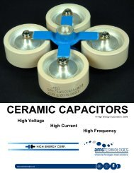 CERAMIC CAPACITORS - AMS Technologies