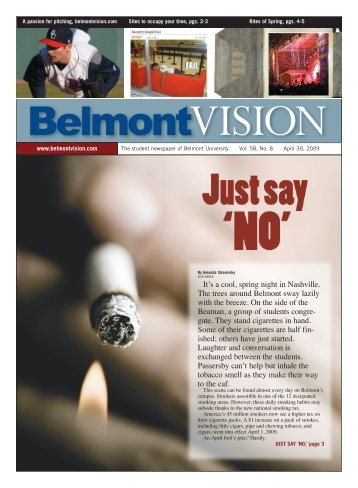 4/30/2009 - The Belmont Vision