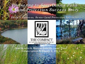 Paula Pariseau, Sr. Land Protection Specialist, The Compact